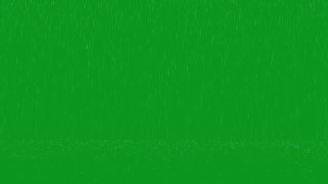 heavy rain green screen loop 2 - rain stock videos & royalty-free footage