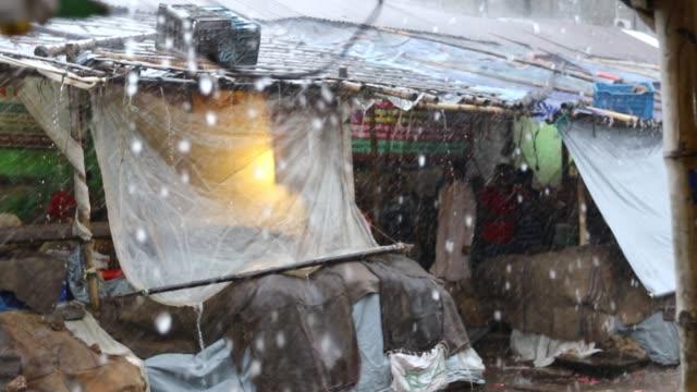 Heavy Rain in Dhaka Bangladesh