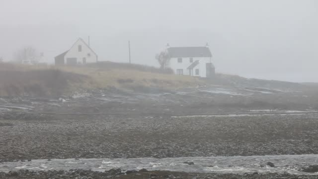 heavy rain over broadford on the isle of skye, scotland, uk. - weight stock videos & royalty-free footage