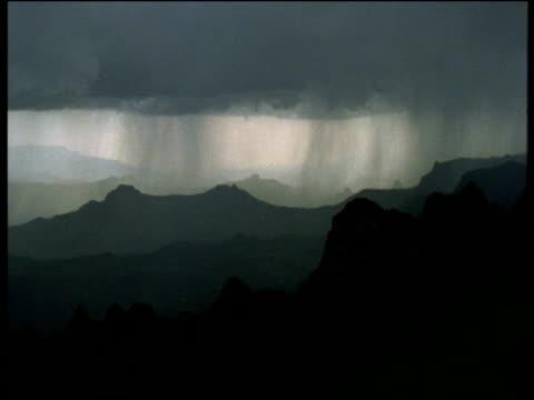 heavy rain sweeps across ethiopian highlands - torrential rain stock videos & royalty-free footage