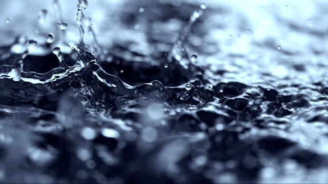 heavy rain (super slow motion) - rain stock videos & royalty-free footage