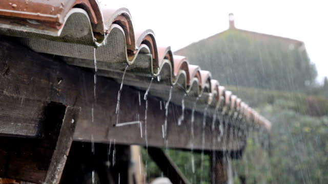 heavy rain - gutter stock videos and b-roll footage