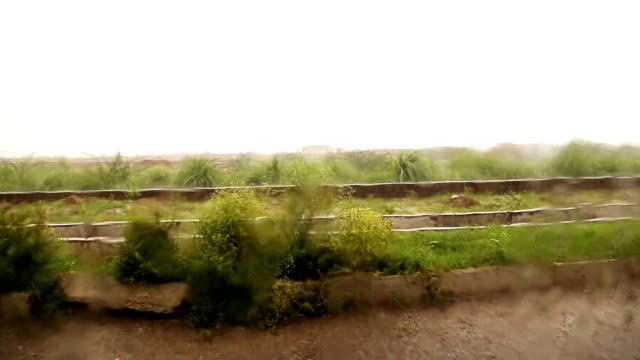 heavy rain - saving up for a rainy day stock videos and b-roll footage