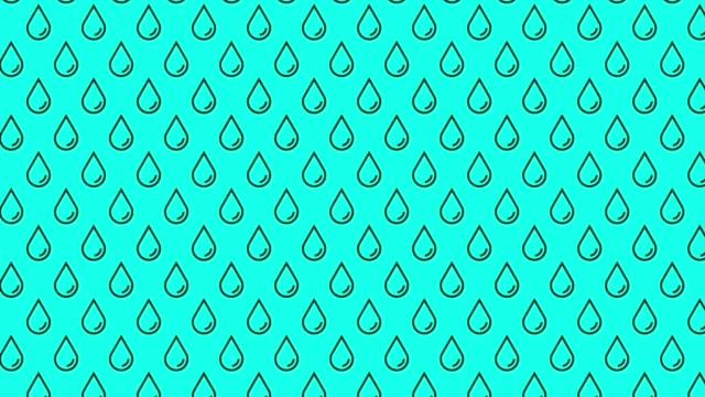 Heavy Raining Line Style - Vector Animate