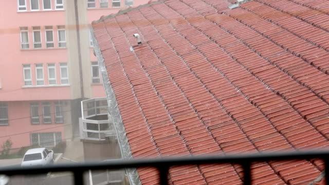 heavy raining - iron bars for windows stock videos & royalty-free footage