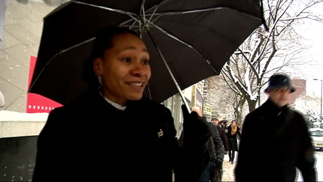 resilience planning London Vox pops woman SOT