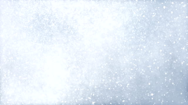heavy snow / snow storm / blizzard (white) with luma/alpha matte to separate foreground - loop - ghiacciato video stock e b–roll