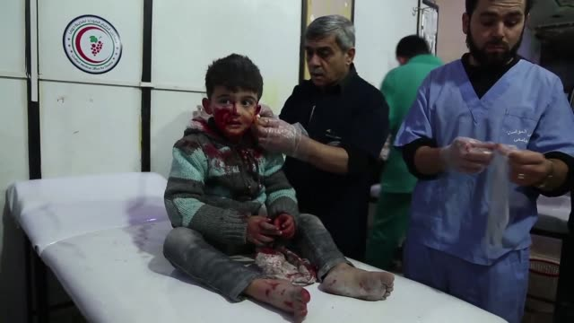 Heavy Syrian bombardment killed 44 civilians in rebel held Eastern Ghouta on Monday as regime forces appeared to prepare for an imminent ground...