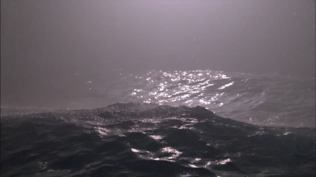 ws heavy waves in ocean during storm / county cork, munster, ireland - county cork stock videos & royalty-free footage