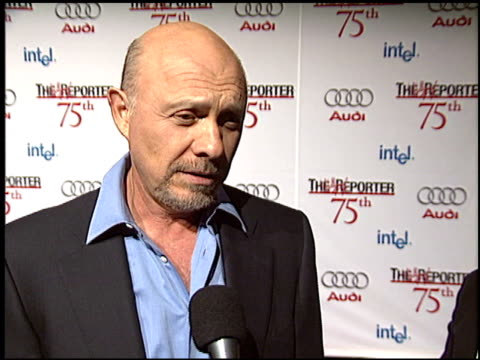 hector elizondo at the hollywood reporter 75th anniversary at pacific design center in west hollywood california on september 13 2005 - 75th anniversary stock videos & royalty-free footage