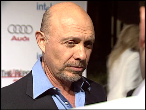 hector elizondo at the hollywood reporter 75th anniversary at pacific design center in west hollywood california on september 13 2005 - pacific design center stock videos and b-roll footage