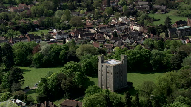 hedingham castle - castle stock videos & royalty-free footage