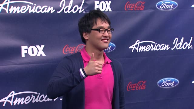 heejun han at meet the american idol judges finalists on 3/1/2012 in los angeles ca - american idol stock videos and b-roll footage