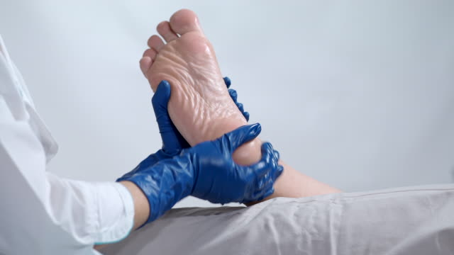 heel treatment - pedicure stock videos & royalty-free footage
