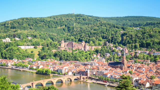 heidelberg - baden wurttemberg stock videos and b-roll footage