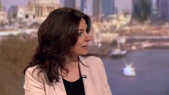stockvideo's en b-roll-footage met heidi allen saying the independent group / change uk want to take a different approach to politics and bring out policies based on evidence - britse labor partij