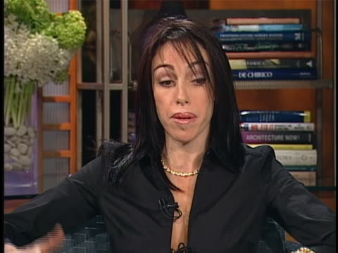 heidi fleiss discusses prostitution - gender stereotypes stock videos & royalty-free footage