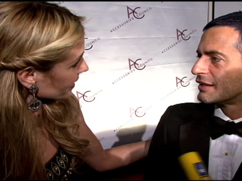 heidi klum and marc jacobs at the 11th annual ace awards at cipriani in new york, new york on november 5, 2007. - マンハッタン チプリアーニ点の映像素材/bロール