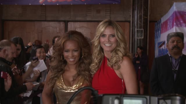 Heidi Klum and Melanie Brown at 'America's Got Talent' Red Carpet Heidi Klum and Melanie Brown at 'America's Got Tal at the Pantages Theatre on April...