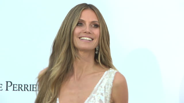 heidi klum at amfar gala cannes 2018 on may 17 2018 in cap d'antibes france - amfar stock videos & royalty-free footage