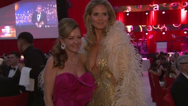 Heidi Klum at Elton John AIDS Foundation Presents 21st Annual Academy Awards Viewing Party Sponsored By Chopard Neuro Drinks And Wells Fargo on...