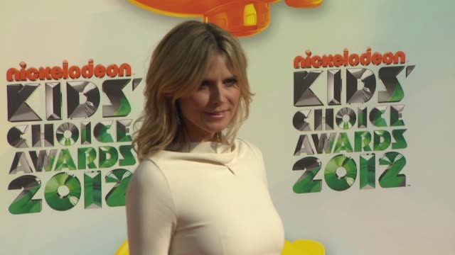 Heidi Klum at Nickelodeon's 25th Annual Kids' Choice Awards on 3/31/2012 in Los Angeles CA