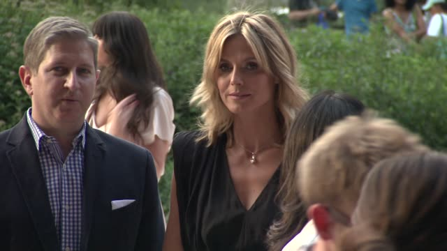 heidi klum at project runway 10th anniversary party at highline on july 17 2012 in new york new york - project runway stock videos and b-roll footage