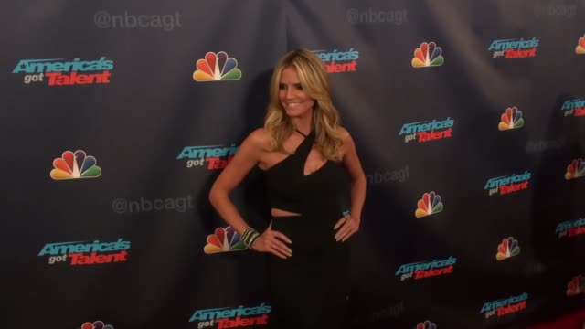 heidi klum at radio city music hall in new york ny on 9/17/13 - radio city music hall stock videos & royalty-free footage