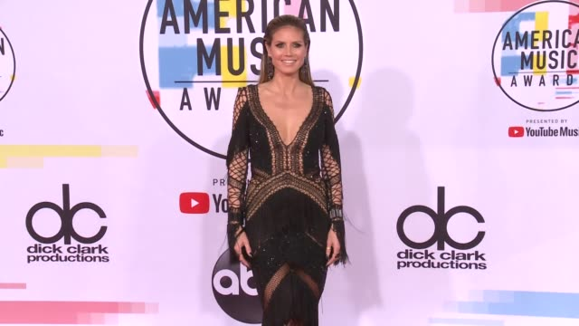 Heidi Klum at the 2018 American Music Awards at Microsoft Theater on October 09 2018 in Los Angeles California