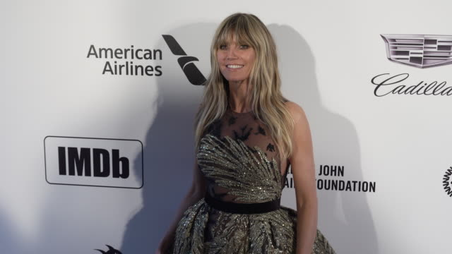 Heidi Klum at the 27th Annual Elton John AIDS Foundation Academy Awards Viewing Party Sponsored By IMDb And Neuro Drinks on February 24 2019 in West...