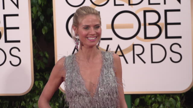 Heidi Klum at the 73rd Annual Golden Globe Awards Arrivals at The Beverly Hilton Hotel on January 10 2016 in Beverly Hills California 4K