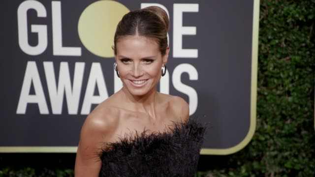 Heidi Klum at the 75th Annual Golden Globe Awards at The Beverly Hilton Hotel on January 07 2018 in Beverly Hills California