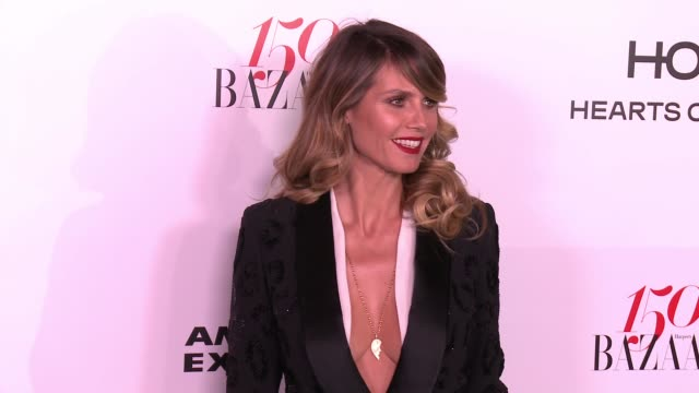 Heidi Klum at the Harper's BAZAAR Celebrates 150 Most Fashionable Women at Sunset Tower on January 27 2017 in West Hollywood California