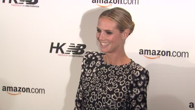 Heidi Klum at the Heidi Klum For New Balance Launch Party at New York NY