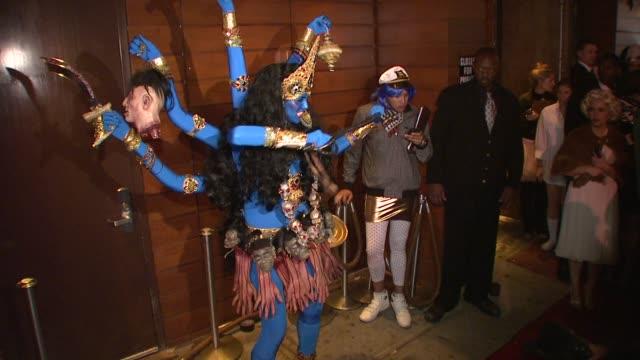 heidi klum at the heidi klum's 9th annual halloween party at new york ny. - halloween stock videos & royalty-free footage