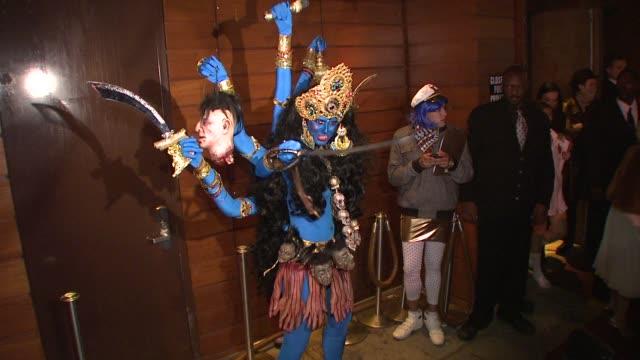 heidi klum at the heidi klum's 9th annual halloween party at new york ny. - halloween stock-videos und b-roll-filmmaterial