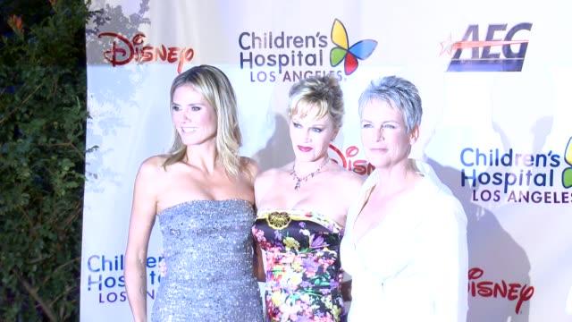 Heidi Klum Melanie Griffith Jamie Lee Curtis at Children's Hospital Los Angeles Gala Noche de Ninos on 10/20/12 in Los Angeles CA