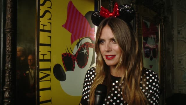 INTERVIEW Heidi Klum on 2018 marks a big milestone for Minnie her 90th anniversary at Minnie Mouse receives her star on the Hollywood Walk of Fame in...