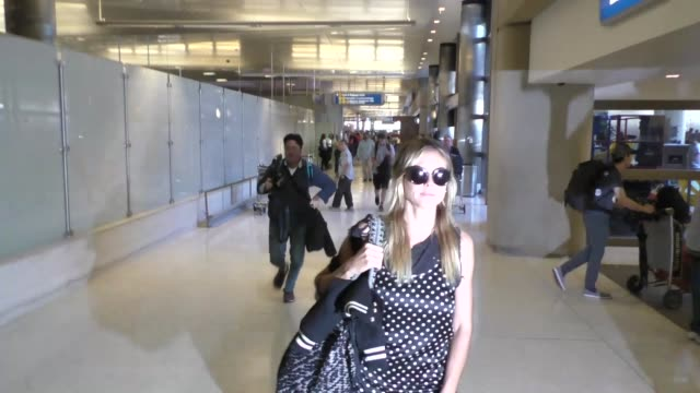 heidi klum vito schnabel departing at lax airport in celebrity sightings in los angeles - heidi klum stock videos and b-roll footage