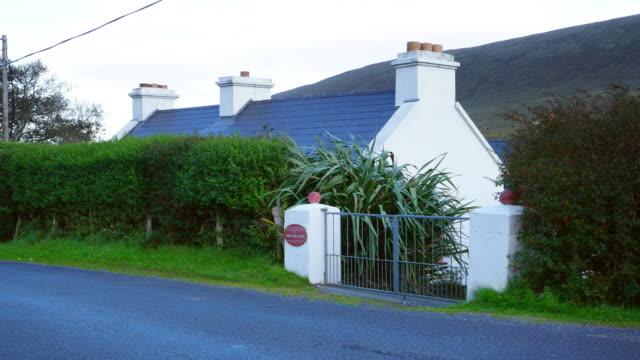 heinrich böll cottage in dugort (doogort) on achill island - republic of ireland stock videos & royalty-free footage