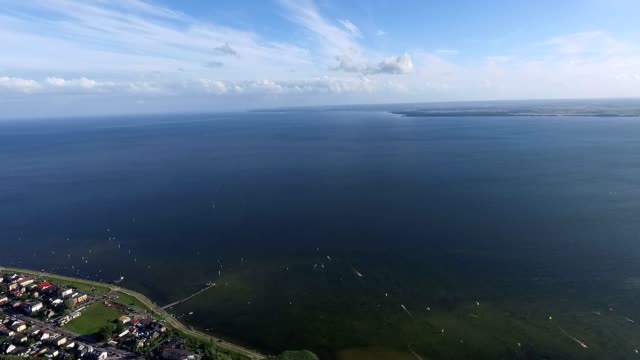 hel peninsula aerial view - peninsula stock videos and b-roll footage