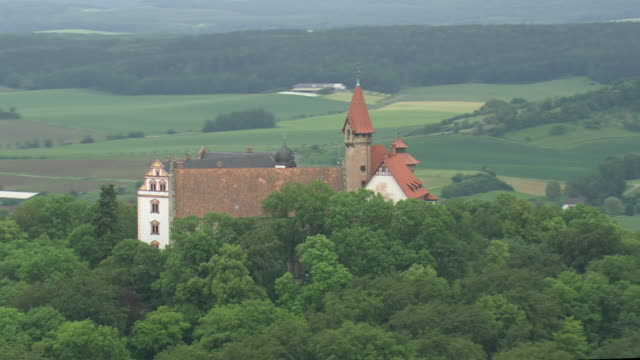 heldburg fortress - turingia video stock e b–roll