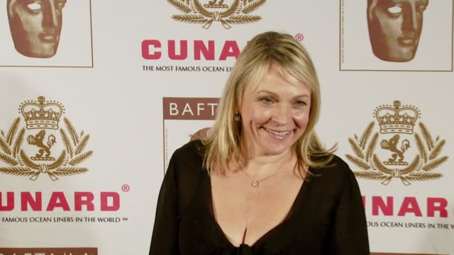 helen fielding at the 16th annual 2007 bafta/la cunard britannia awards at the century plaza hotel in century city california on november 1 2007 - century city stock videos & royalty-free footage