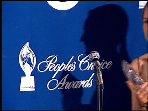 helen hunt at the 1999 people's choice awards at the pasadena civic auditorium in pasadena, california on january 10, 1999. - pasadena civic auditorium stock videos & royalty-free footage