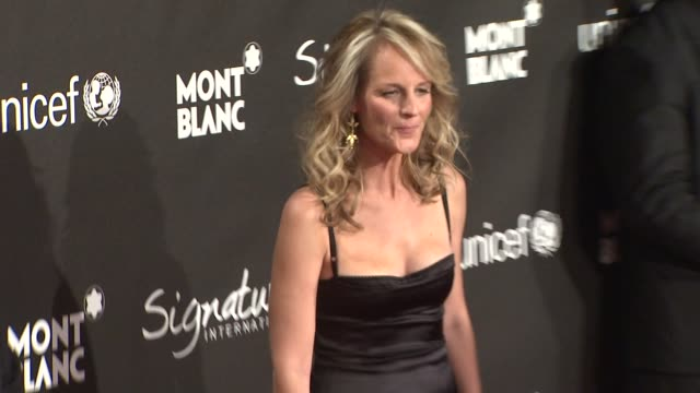 Helen Hunt at the Montblanc Signature for Good Event In Association With UNICEF at Los Angeles CA