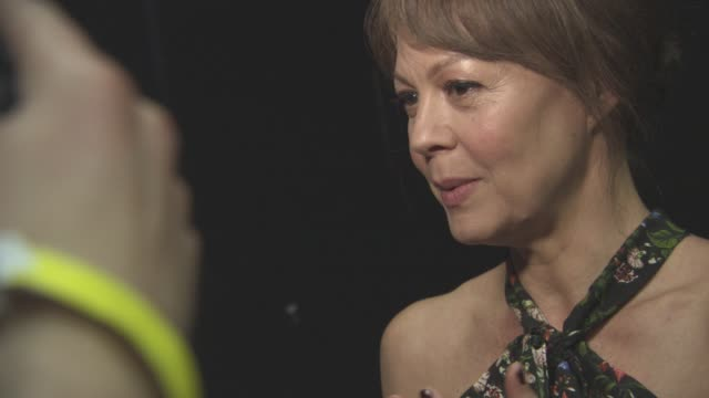 helen mccrory at 'their finest' - premiere at bfi southbank on april 12, 2017 in london, england. - bfi southbank stock videos & royalty-free footage