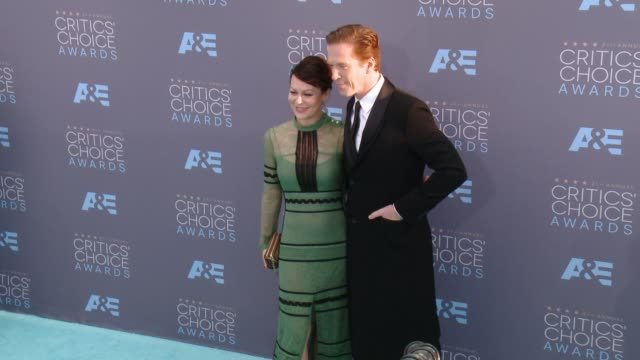 Helen McCrory Damian Lewis at 21st Annual Critics' Choice Awards in Los Angeles CA
