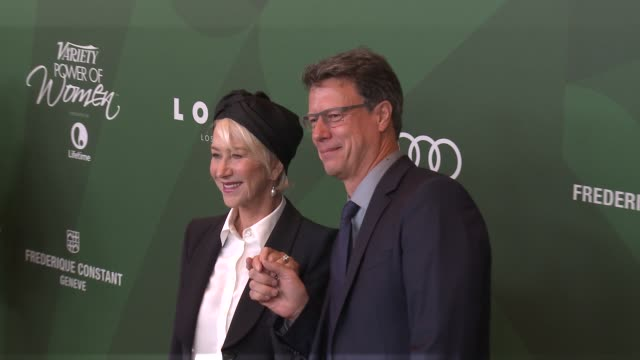helen mirren and gavin hood at variety's power of women luncheon 2016 at regent beverly wilshire hotel on october 14 2016 in beverly hills california - gavin hood stock videos and b-roll footage
