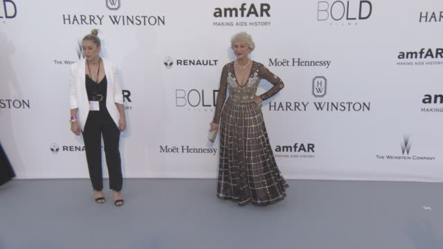 Helen Mirren at amfAR's 23rd Cinema Against AIDS Gala Arrivals at Hotel du CapEdenRoc on May 19 2016 in Cap d'Antibes France