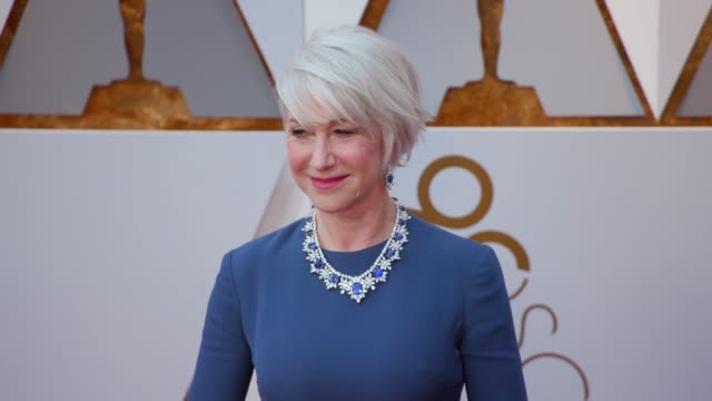 helen mirren at dolby theatre on march 04, 2018 in hollywood, california. - helen mirren stock videos & royalty-free footage